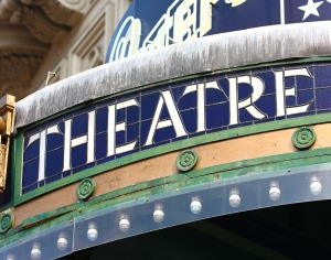 Outside Facade Of A Movie Theatre In London